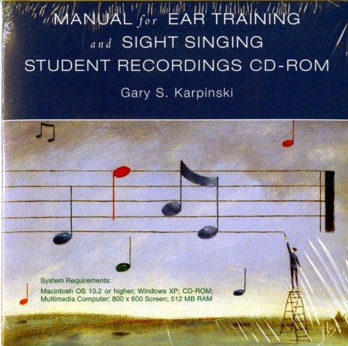Student Recordings: for Manual for Ear Training: Karpinski, Gary S.
