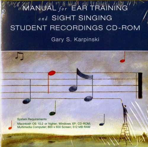 9780393104370: Student Recordings: for Manual for Ear Training and Sight Singing