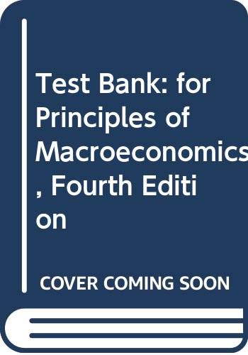 9780393107272: Test Bank: For Principles of Macroeconomics