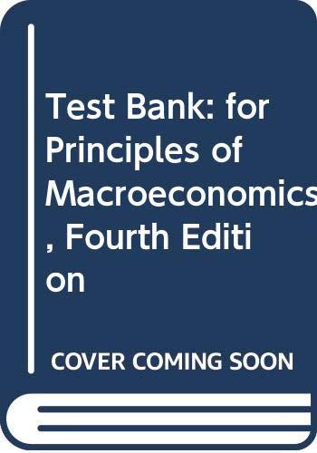9780393107272: Test Bank: For Principles of Macroeconomics