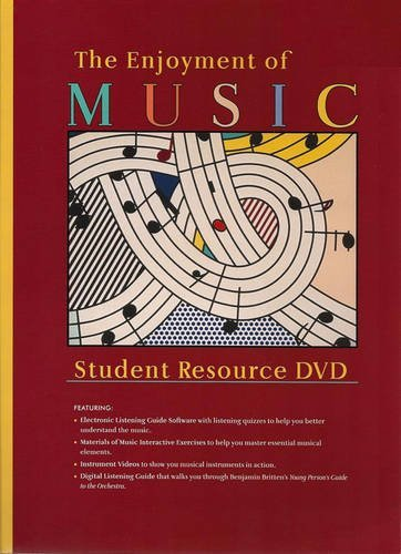 9780393107579: Student Resource DVD: for The Enjoyment of Music: An Introduction to Perceptive Listening, Tenth Edition