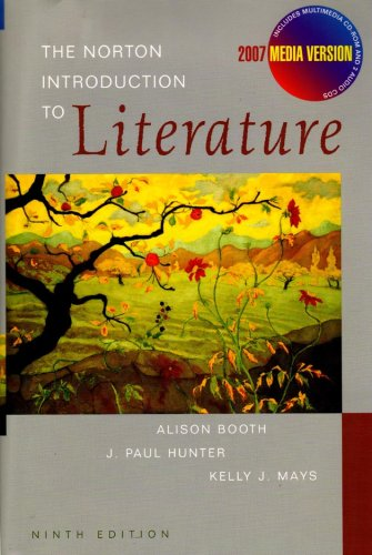 9780393108880: The Norton Introduction to Literature (Ninth Edition Media Version)