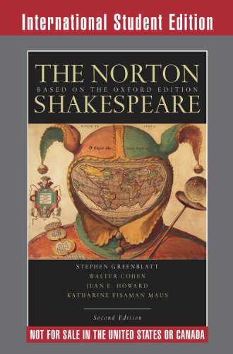 9780393111354: The Norton Shakespeare: Based on the Oxford Edition (Second International Student Edition)