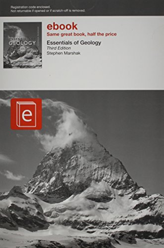 Essentials of Geology: Marshak, Stephen