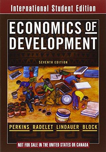 9780393114959: Economics of Development