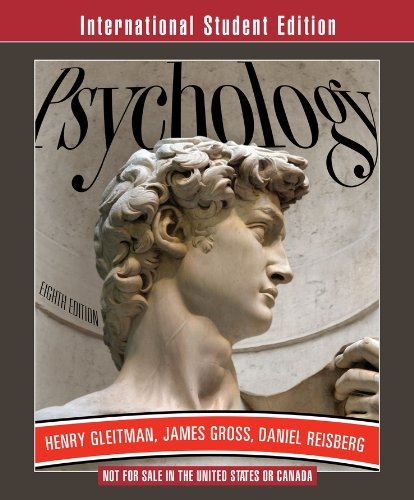 9780393116823: Psychology (Eighth International Student Edition)