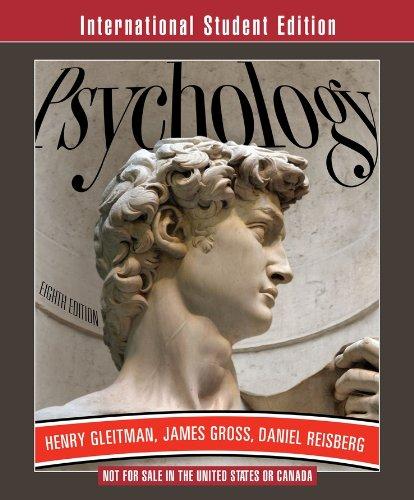 9780393116823: Psychology