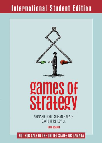 9780393117516: Games of Strategy (Third International Student Edition)