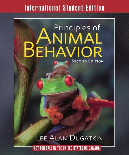 9780393117752: Principles of Animal Behavior (Second International Student Edition)
