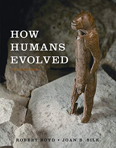 9780393117783: How Humans Evolved (Fifth International Student Edition)