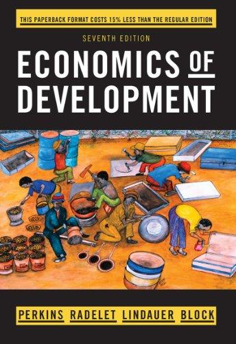 9780393123524: Economics of Development (Seventh Edition)