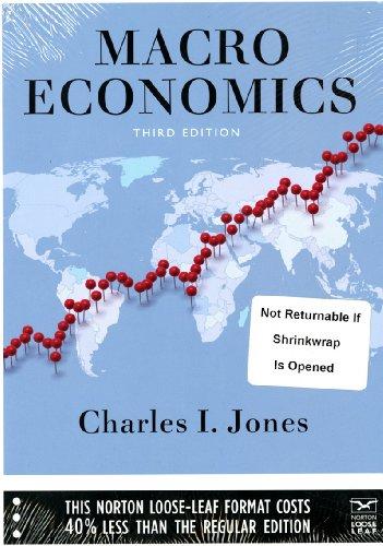 9780393123951: Macroeconomics (Third Edition)