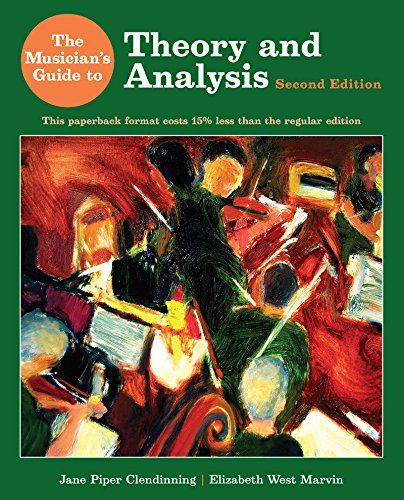 9780393124118: The Musician's Guide to Theory and Analysis (Second Edition)
