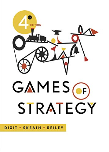 9780393124446: Games of Strategy (Fourth Edition)