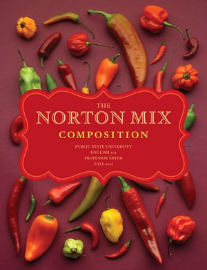 9780393124903: NORTON MIX COMP.:FOOD WRITING >CUSTOM<
