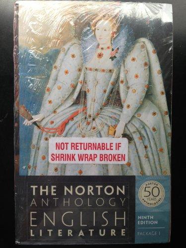 9780393129977: The Norton Anthology: English Literature with Shakespeare's Hamlet (Ed. Miola)