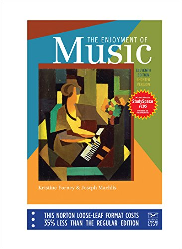 9780393135138: The Enjoyment of Music, Eleventh Edition, Shorter Version