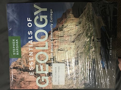 9780393137521: Essentials of Geology for Mesa Community College