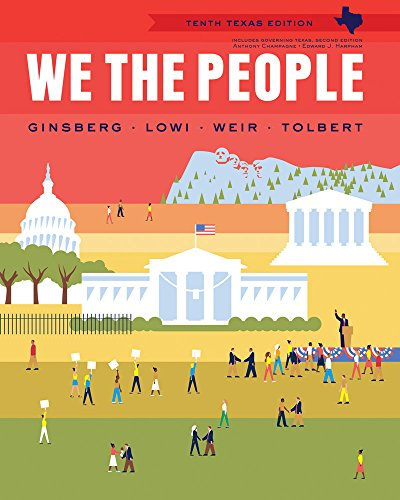 9780393137828: We the People, Texas Edition 10th edition