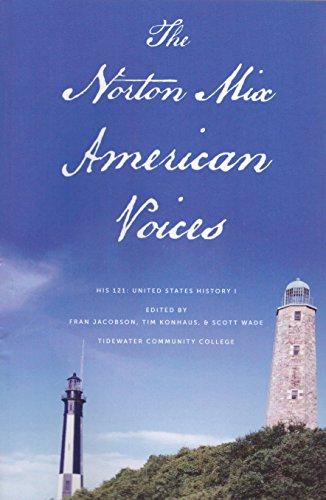 9780393137910: The Norton Mix: American Voices