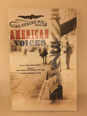 9780393137927: The Norton Mix American Voices(tidewater Community College) Paperback
