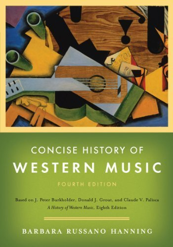 CONCISE HISTORY OF WESTERN MUS: Hanning, Barbara Russano