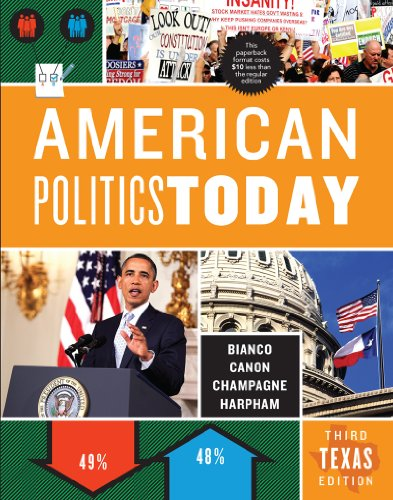 American Politics Today (Third Texas Edition): Canon, David T.
