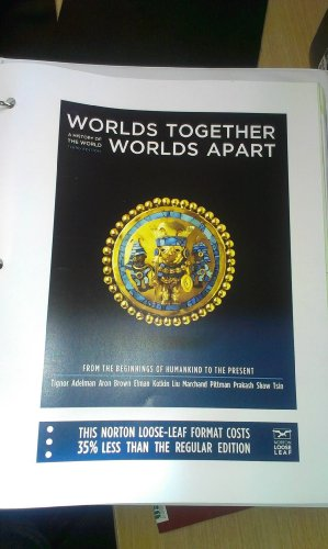 9780393149722: Worlds Together, Worlds Apart: A History of the World: From the Beginnings of Humankind to the Present (Third Edition) (Vol. One-Volume)