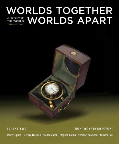 9780393149746: Worlds Together, Worlds Apart: A History of the World: From 1000 CE to the Present (Third Edition) (Vol. 2)