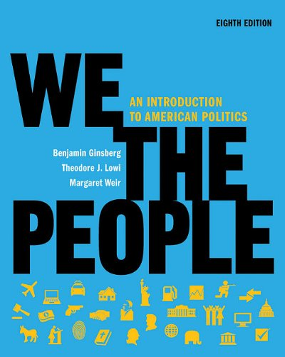 9780393149791: We the People: An Introduction to American Politics