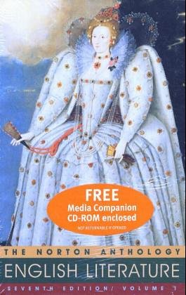 9780393151091: The Norton Anthology of English Literature, 7th Ed, Vol. 1 (Packaged with Media Companion)