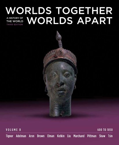 9780393156270: Worlds Together, Worlds Apart: A History of the World: 600 to 1850 (Third Edition) (Vol. B)