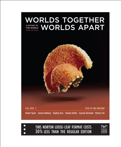 9780393156300: Worlds Together, Worlds Apart: A History of the World: 1750 to the Present (Third Edition) (Vol. C)