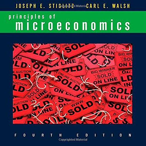 9780393168181: Principles of Microeconomics (Fourth Edition)