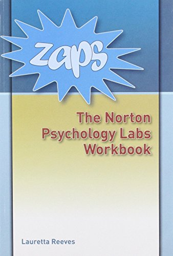 9780393178166: Zaps: Norton Psychology Labs Workbook and Password Card