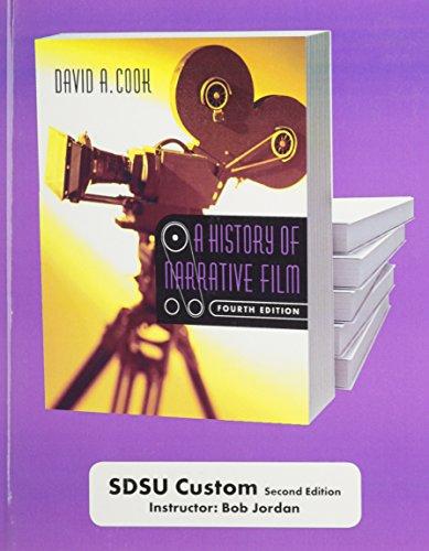 9780393179446: A History of Narrative Film: Custom Edition