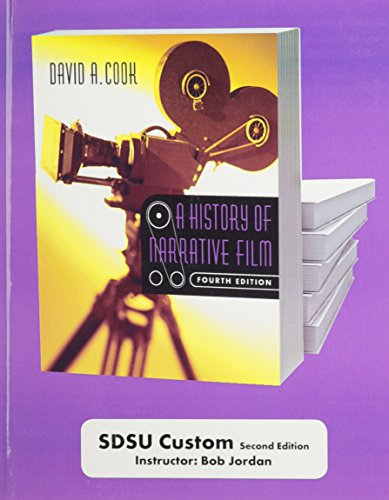 9780393179446: A History of Narrative Film: Custom Edition
