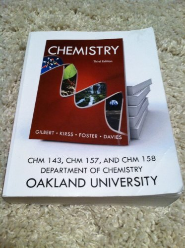 9780393179477: Chemistry, The Science in Context (Oakland University Custom Edition)