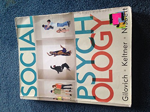 9780393180428: Social Psychology (Paper)