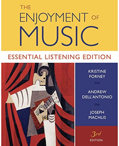 9780393181982: The Enjoyment of Music: Essential Listening Edition