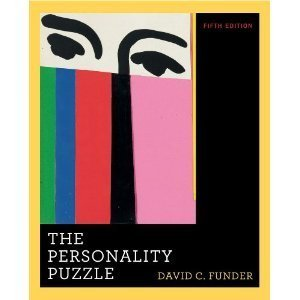 9780393199321: The Personality Puzzle W/ Pieces of the Personality Puzzle Included