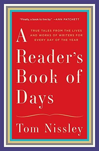 Reader's Book of Days: Nissley, Tom