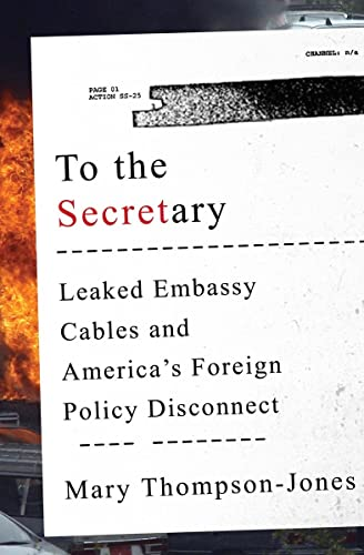 9780393246582: To the Secretary: Leaked Embassy Cables and America's Foreign Policy Disconnect