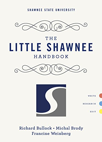 9780393250039: The Little Shawnee Handbook (Shawnee State University)