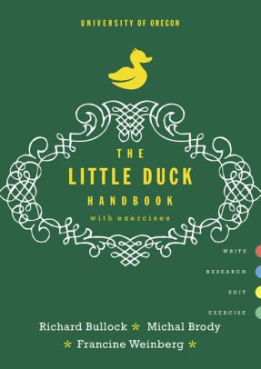9780393250206: The Little Duck Handbook with Exercises