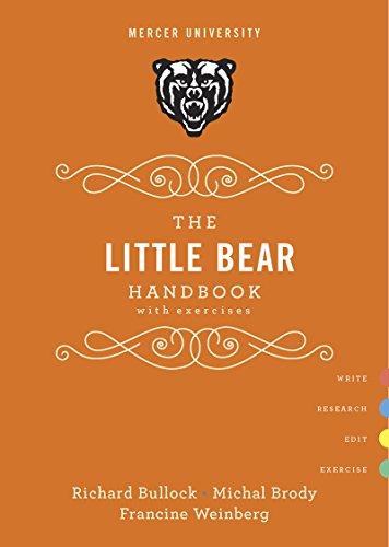 9780393250435: The Little Bear Handbook