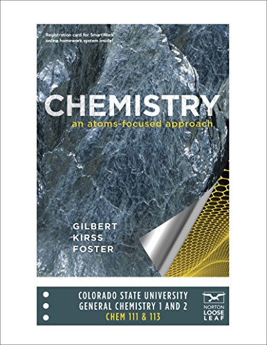 Molecule Tiny Homes Llc: Chemistry- An Atoms Focused Approach: 9780393250831
