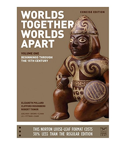 9780393250930: Worlds Together, Worlds Apart: A History of the World: From the Beginnings of Humankind to the Present (Concise Edition) (Vol. 1)
