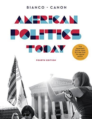 9780393250992: American Politics Today (Full Fourth Edition)