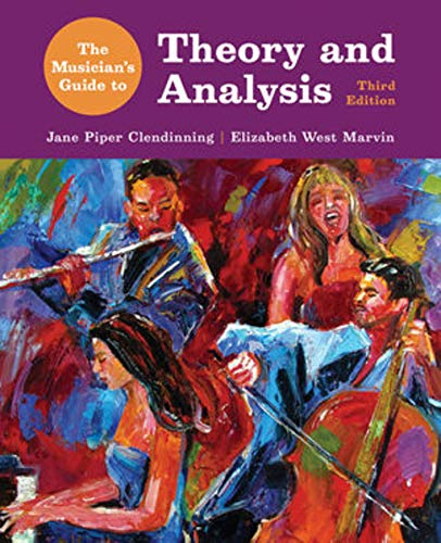 9780393263053: The Musician's Guide to Theory and Analysis (Third Edition)